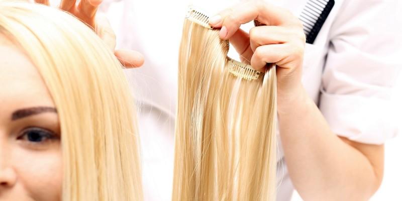 Verlängerung der Haare
